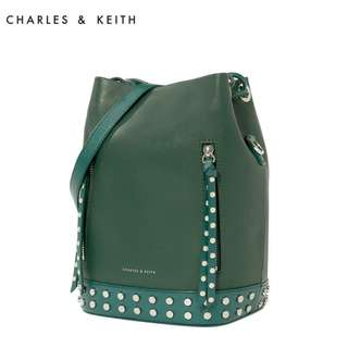 Charles & Keith Draw Bucket String Bag