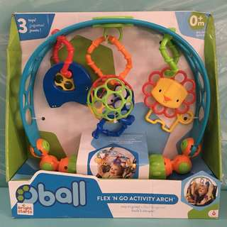 Oball activity for baby