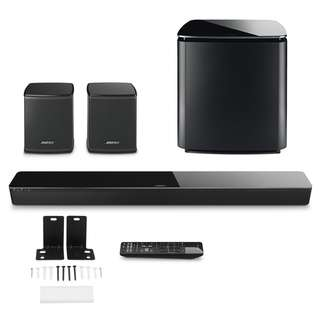 BOSE SOUNDTOUCH 300 SOUNDBAR + ACOUSTIMASS 300 WIRELESS BASS MODULE + VIRTUALLY INVISIBLE 300 WIRELESS SURROUND SPEAKERS PACKAGE - By Dealer