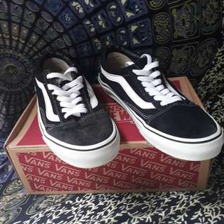Vans Old Skool black white premium