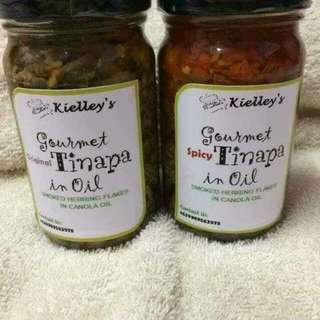 """GOURMET TINAPA IN OIL"" Smoked Herring Flakes in Canola Oil. (Homemade) from Philippines"
