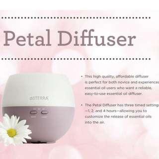 doTERRA Petal Diffuser / Essential Oil Diffuser