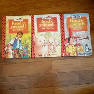 Ladybird Read it yourself books