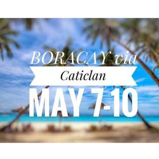 BORACAY via Caticlan PAL ticket
