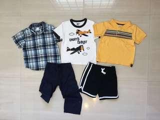 PL Branded Boys Clothings 3YO