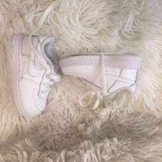 Authentic Nike AirForce one mid infant-toddler 4c with box