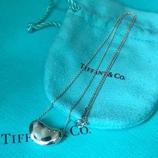 原價$2900 Tiffany Elsa Peretti Bean Necklace 吊墜連頸鍊