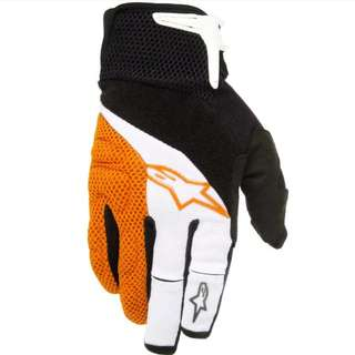 🆕! Alpinestars Full Finger Protective Gloves ( Size XXL )    #OK