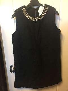 珍珠連身裙