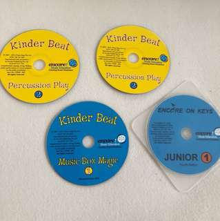 Encore music education : Kinderbeat kids music box magic, percussion play and encore on keys junior 1