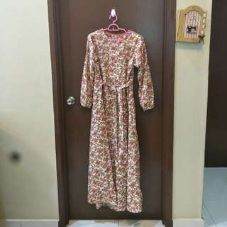 Dress labuh/ long dress