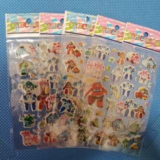 3D Cartoon Stickers