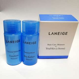 LANEIGE Basic Care Moisture Trial Kit (2 items)