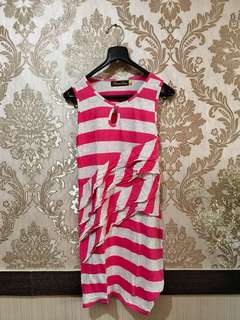 Femme Dloops Dress Pink