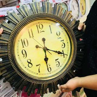 Vintage Huge Wall clock
