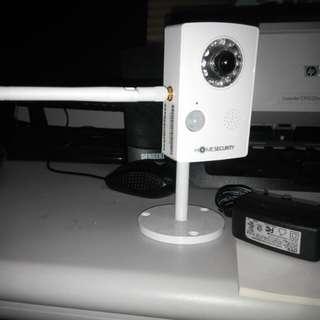 居家防護攝影鏡頭+充電器