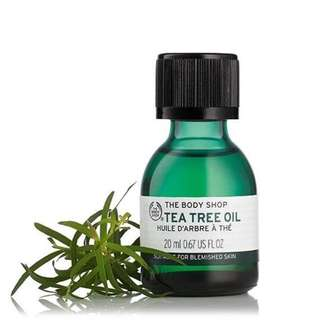 <in stocks> The Body Shop Tea Tree Oil - 20ml Jumbo