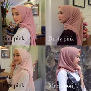 Daily Hijab / Potton Shawl / Bella Square