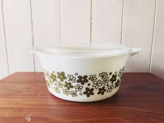 Spring Blossom 474 Casserole with Lid