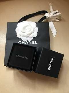 chanel earring box