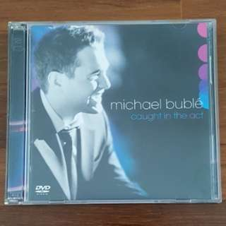 Michael Buble : Caught In The Act CD & DVD