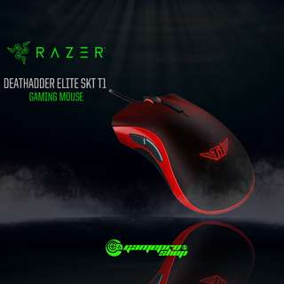 Razer Deathadder Elite SKT T1 Edition Gaming Mouse (RZ01-02010400-R3M1)