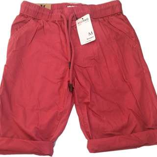 🍬 Branded Pull-On Walking Shorts Pink For Boys