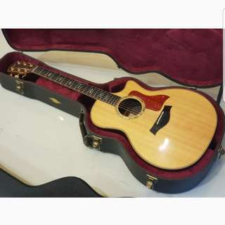 Taylor 814CE and Martin 000-18