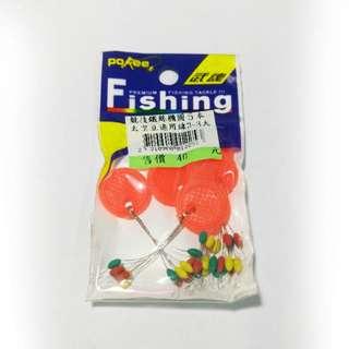 【357、360】日本Poree太空豆適用線3-8大、日本seawood特級チヌ6號_魚魚釣具