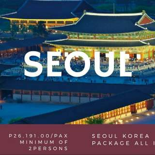 KOREA PACKAGE ALL IN
