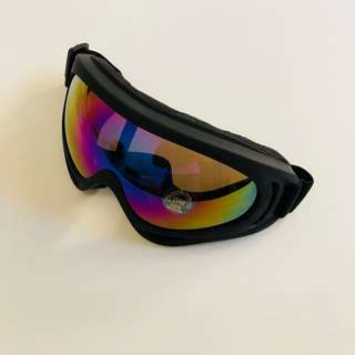 Motorcycle Goggle Shade UV Protection Super Clear Vision