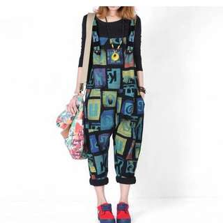 Overalls Pinafore
