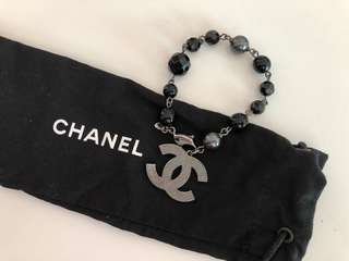 Chanel珠款手鍊,95%新,有塵袋
