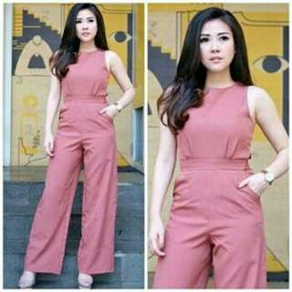 JAMSUIT BELLE  bahan twiscone, fit to XL, LD 100, pjg 110. blk sleting