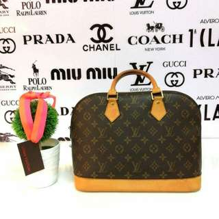 💯Authentic Louis Vuitton Alma Monogram
