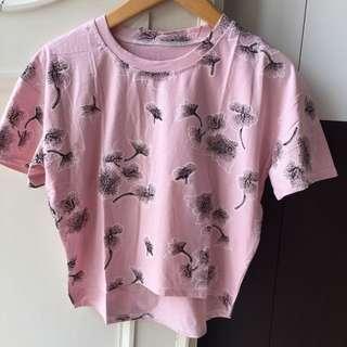 Croptie shirt