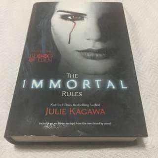 The Immortals by Julie Kagawa