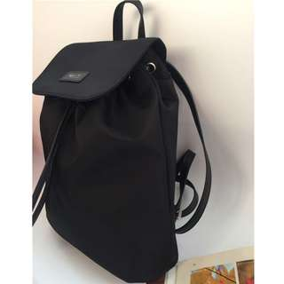 Agnes B Flap Backpack Black Colour