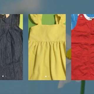 Bundle Dress (Fits 1-2T)