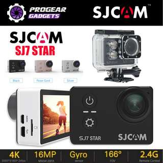 "PROMOTION!!! SJCAM SJ7 STAR 4K HD Gyro 2"" Touch Screen Action Camera - 100% Authentic SJCAM"