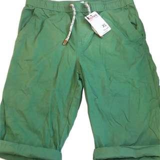 🍬 Branded Pull-On Walking Short Green For Boys