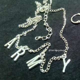 Onhand/ready to ship ARMY NECKLACE