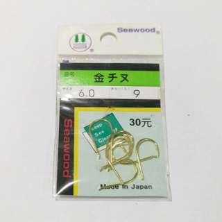 【359】日本seawood金チヌ6號_魚魚釣具