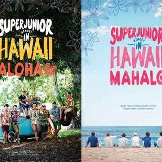 Super Junior Memories in Hawaii $150一本
