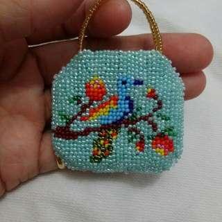 Peranakan mini purse