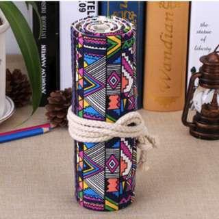 Canvas pencil case 36 slots