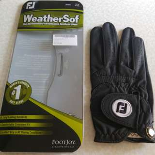 Footjoy WeatherSof golf glove (right hand)