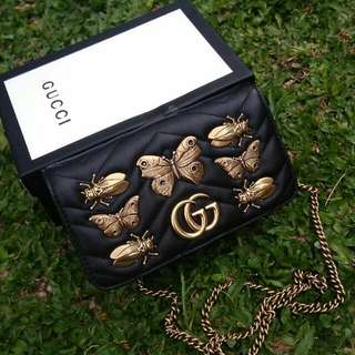 👉SOLD - GUCCI Butterfly WOC Ghw # lo