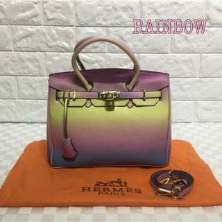 Hermes Birkin Rainbow Color