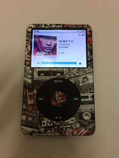 Ipod classic 80GB 黑色